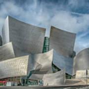 Walt Disney Concert Hall La Ca 7r2_dsc3465_17-01-17 Art Print