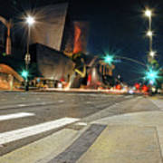Walt Disney Concert Hall - Los Angeles Art Art Print