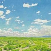 Walter Ufer 1876 - 1936 The American Desert Art Print