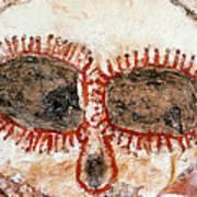 Wandjina Face Art Print