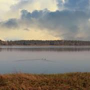 Wando River Landscape Art Print