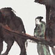 Wang Zhaojun Art Print