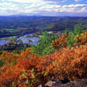 Wantatisquet Mountain Foliage Art Print