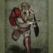 War Beast Art Print