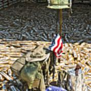 War Dogs Sacrifice Print by Carolyn Marshall