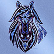War Horse 3 Art Print