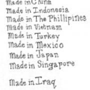 War Made For Big Business Art Print