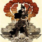 War Maiden Art Print by Brian Kesinger