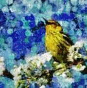 Warbler Of Spring Art Print