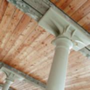 Warehouse Columns Art Print