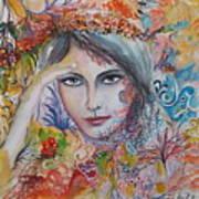 Warm Autumn Art Print