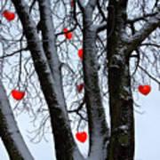 Warm Hearts Color A Tivoli Gardens Art Print