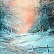 Warm Winter Fantasy Art Print