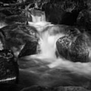 Warme Bode, Harz - Monochrome Version Art Print