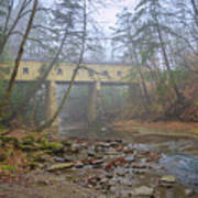 Warner Hollow Rd Covered Bridge Art Print