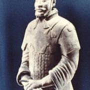 Warrior Of The Terracotta Army Art Print