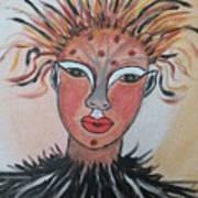 Warrior Woman  #3 Art Print