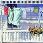 Wash Day Art Print