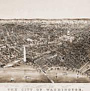 Washington D.c., 1892 Art Print by Granger
