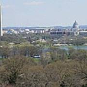 Washington Dc View From Custis Lee House Art Print