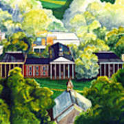 Washington Hall At Washington And Lee University Art Print