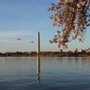 Washington Monument Art Print by Megan Cohen