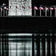 Washington Monument Reflections Art Print