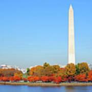 Washington On A Autumn Day Art Print