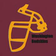 Washington Redskins Retro Art Print