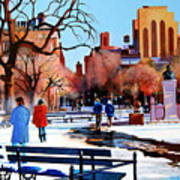 Washington Square Art Print
