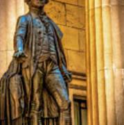 Washington Statue - Federal Hall #2 Art Print