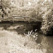 Washington's Crossing Pa - Route 532 Bridge Over The Delaware Ca Art Print