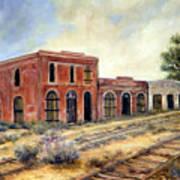 Washoe City Nevada Art Print by Evelyne Boynton Grierson