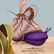 Waspin Art Print