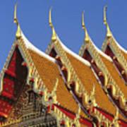 Wat Benjamabophit Art Print