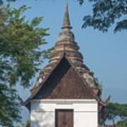 Wat Jed Yod Phra Ubosot Dthcm0967 Art Print