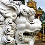 Wat Krom 29 Art Print