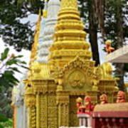 Wat Krom 30 Art Print