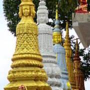 Wat Krom 31 Art Print
