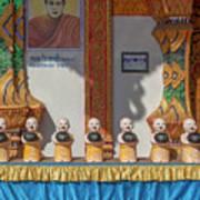 Wat Mae Faek Luang Phra Wihan Daily Merit Bowls Dthcm1879 Art Print