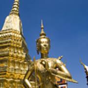 Wat Phra Kaeo Art Print