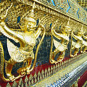 Wat Phra Keo (grand Palac Art Print