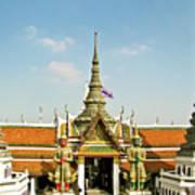 Wat Po Bangkok Thailand 13 Art Print