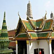 Wat Po Bangkok Thailand 14 Art Print