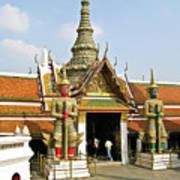 Wat Po Bangkok Thailand 16 Art Print