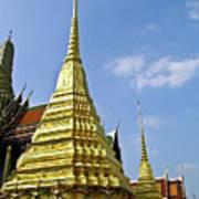 Wat Po Bangkok Thailand 18 Art Print