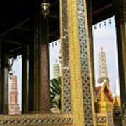 Wat Po Bangkok Thailand 22 Art Print