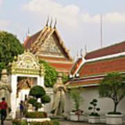 Wat Po Bangkok Thailand 35 Art Print