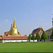Wat Po Bangkok Thailand 37 Art Print