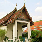 Wat Po Bangkok Thailand 39 Art Print